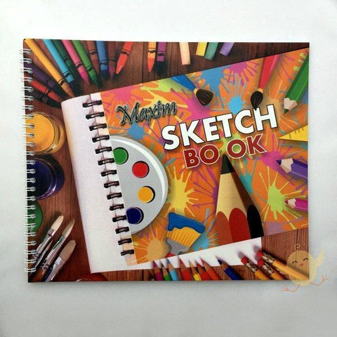 Maxim Sketch Book LARGER Than A4 Size - Basics.Pk