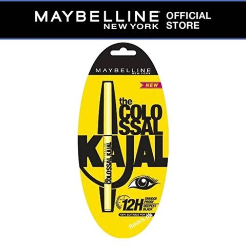 Maybelline Colossal Kajal Pencil-Black-12H