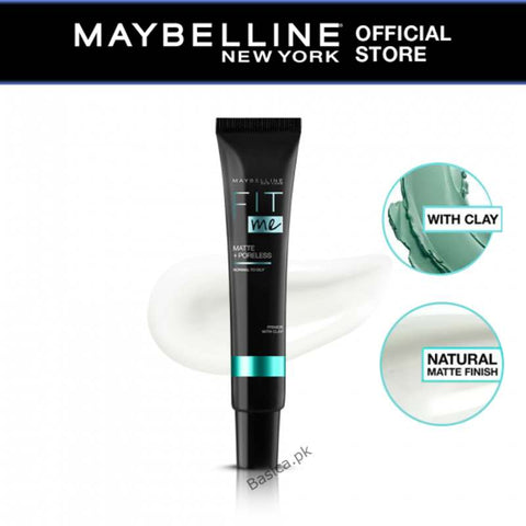 Maybelline Fit Me Matte+Poreless Normal To oily Primer With Clay 30ml