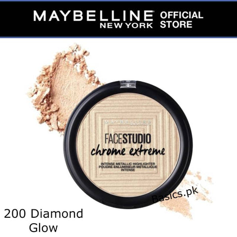 Maybelline Master Chrome Extreme Highlighter 200 Diamond Glow