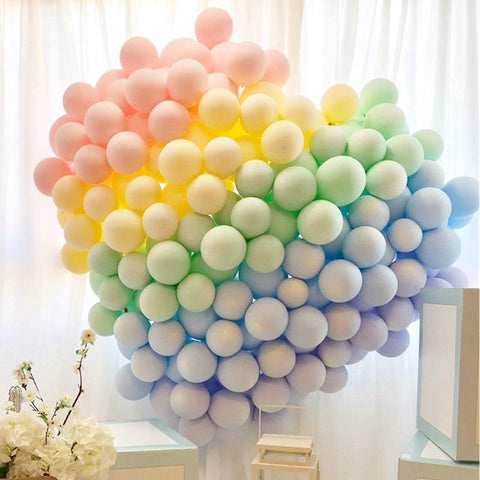 Balloons 25 Mix Color Macron 5-8 inches - Basics.Pk