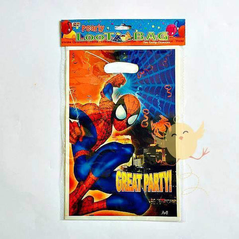 Goody Bags 10 Spiderman theme - Basics.Pk