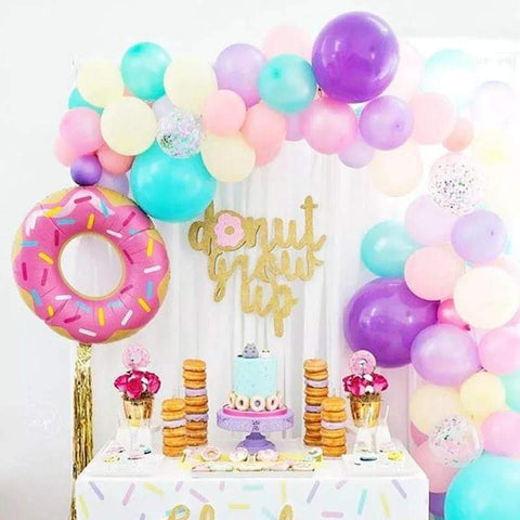 Balloons Foil Donut Pack of 56 - Basics.Pk