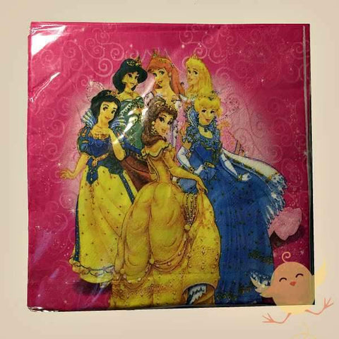 NAPKINS 20 Princess theme pk 20 - Basics.Pk
