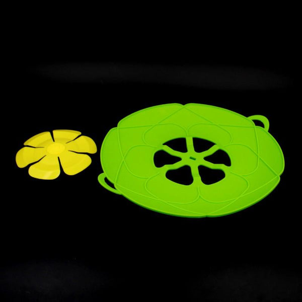 Silicone Mould Yellow Flower with Green Base (E-60) - Basics.Pk