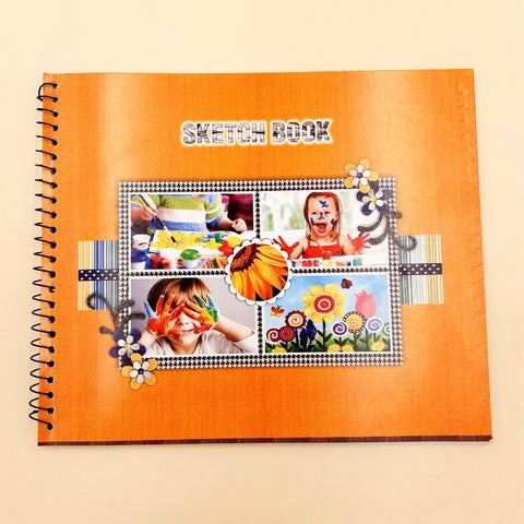 Sketch Book A4 13 pages - Basics.Pk