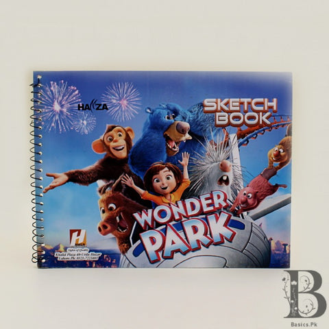 Sketch Book A4 20 Plain Pages Wonder Park
