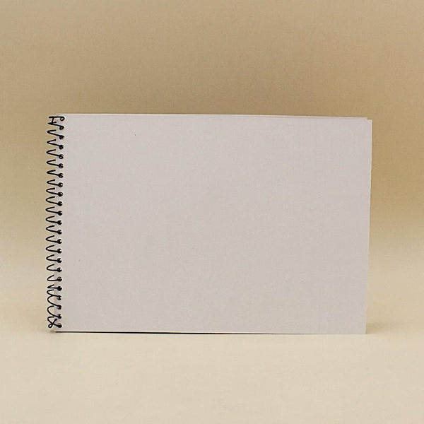 Sketch Book Thick Grain Page 240g Acrylic/ Water/Oil A4 - Basics.Pk