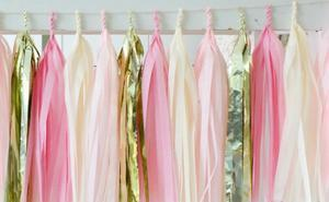 Tassels 20 pack Set (Golden, Pink, Dark Pink and Off-white) - Basics.Pk