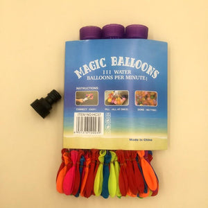Balloons Water Balloons Plastic Packing (111Pcs) - Basics.Pk