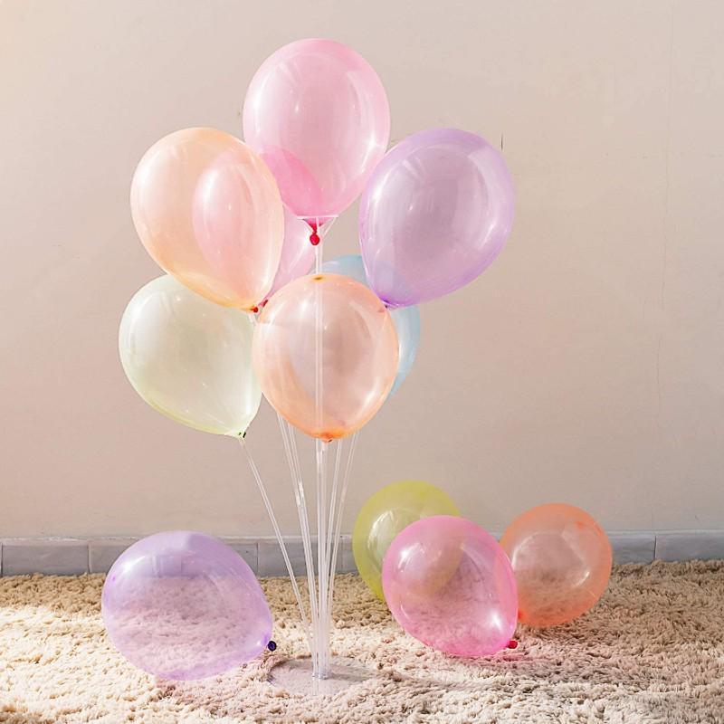 Balloons Crystal Party Mix Large 12-18 inches  (5 pack ) - Basics.Pk