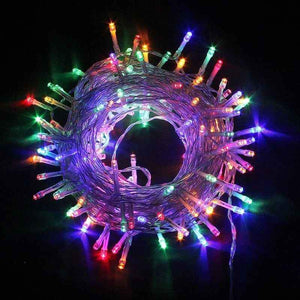 Lights - 10 feet Battery Operated Fairy decorative Multi-Color Lights - Basics.Pk