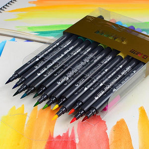 STA Aquarelle Duo 24 coloring brush Pens (31101) - Basics.Pk