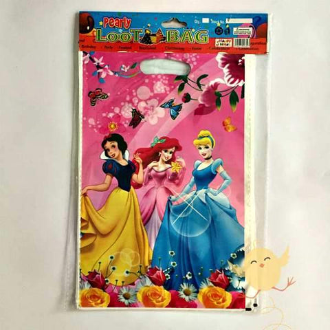 Goody Bags 10 Princess theme - Basics.Pk