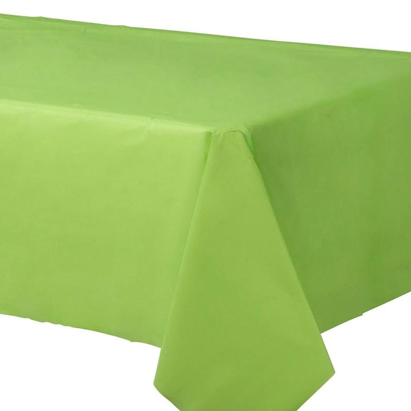 Table Sheet Plain Parrot Green - Basics.Pk