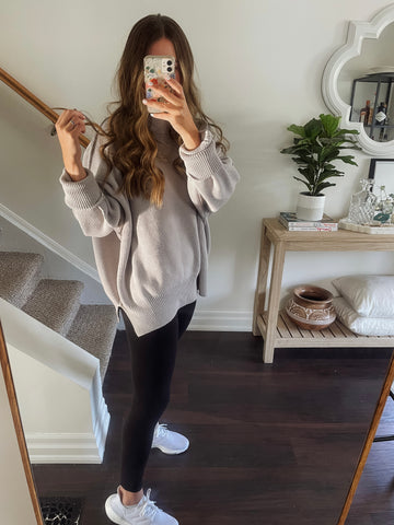 Easy Street Tunic with leggings and runners