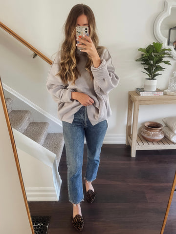 Easy Street Tunic with classic blue denim