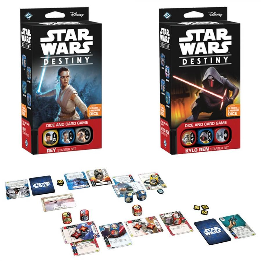 Giochi Di Carte - STAR WARS: DESTINY - Starter Set Rey