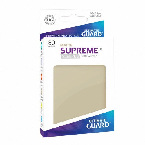 Ultimate Guard - Supreme UX Sleeves Standard Size - Matte Sand 80