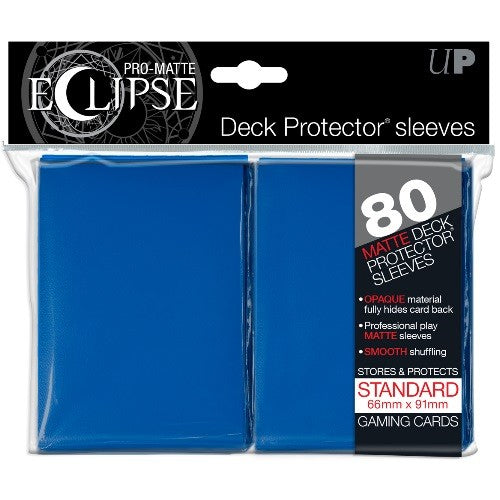 Ultra Pro - Sleeves Standard - Eclipse - Blue 80 pcs