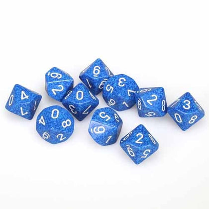Chessex - Speckled Water™ Polyhedral Ten d10 Sets