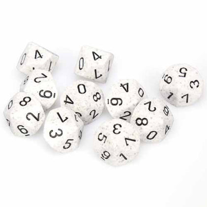 Chessex - Speckled Arctic Camo™ Polyhedral Ten d10 Sets CHX25111