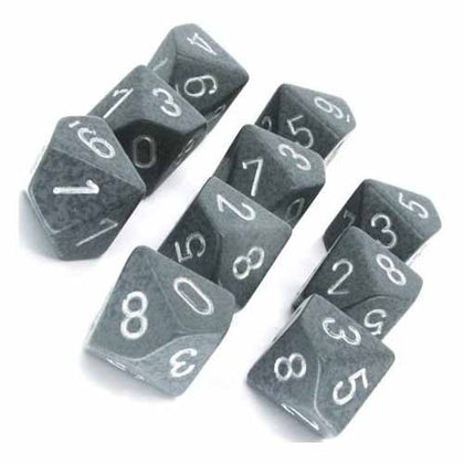Chessex - Speckled Hi-Tech™ Polyhedral Ten d10 Sets CHX25140