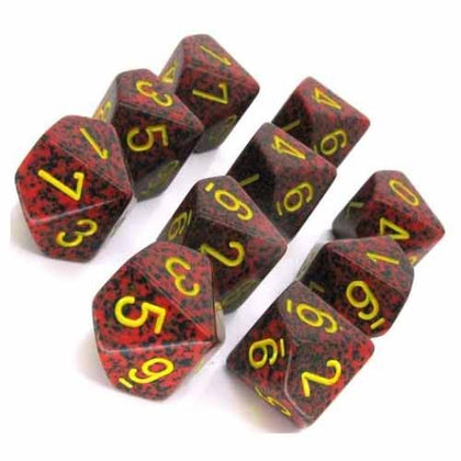 Chessex - Speckled Mercury™ Polyhedral Ten d10 Sets CHX25123
