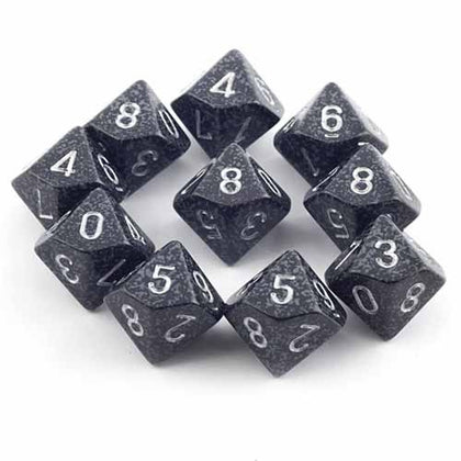 Chessex - Speckled Ninja™Polyhedral Ten d10 Sets CHX25118