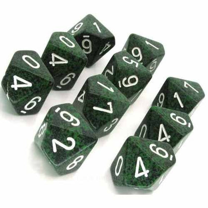 Chessex - Speckled Recon™ Polyhedral Ten d10 Sets CHX25125