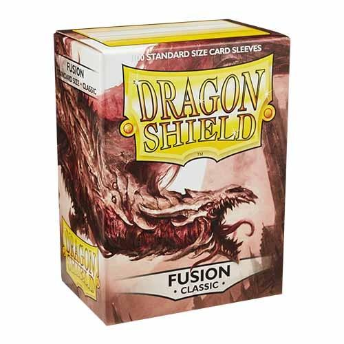 Dragon Shield - Deck Protector Fusion 100pz