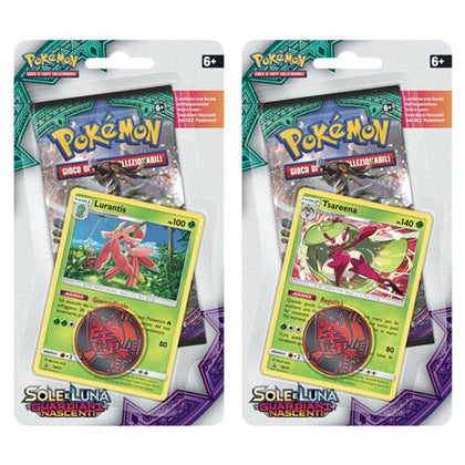 Pokémon Sole e Luna Guardiani Nascenti Blister (busta con carta promo e moneta)