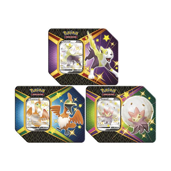 Pokémon Sword & Shield 4.5 Shining Fates Tin Display (6 Tin) EN
