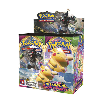 Pokémon Spada e Scudo Voltaggio Sfolgorante Booster Display (36 Buste) IT