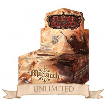 Flesh & Blood TCG Monarch Unlimited Booster Display (24 Packs) (EN)