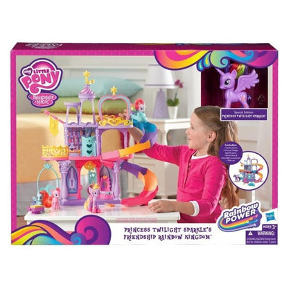 Hasbro - My Little Pony Magical Rainbow Castle Refresh