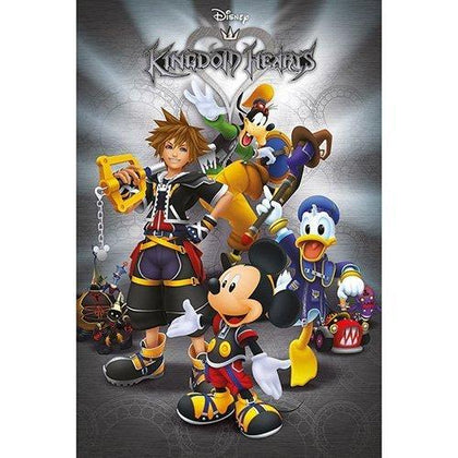 Kingdom Hearts Poster Pack Classic 61 x 91 cm