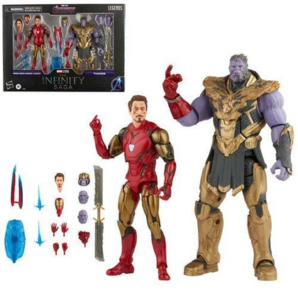 The Infinity Saga Marvel Legends Series Action Figure 2-Pack 2021 Iron Man & Thanos (Endgame) 15 cm