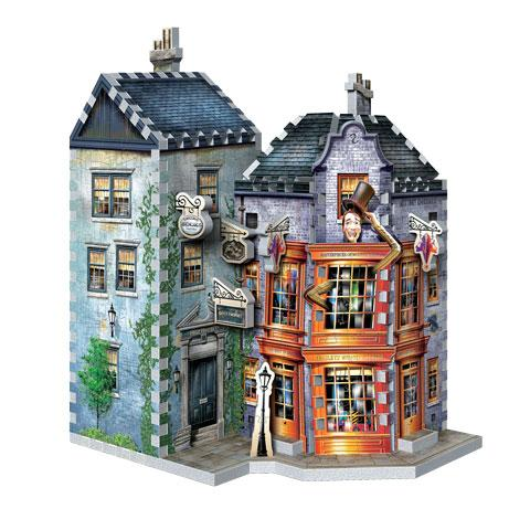 Weasleys Wizard Wheezes and Daily Prophet - Wrebbit 3D puzzle - Harry Potter