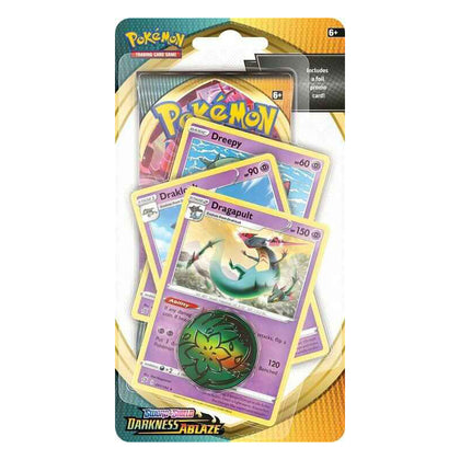 Pokémon Sword and Shield Darkness Ablaze Premium Checklane Blister EN