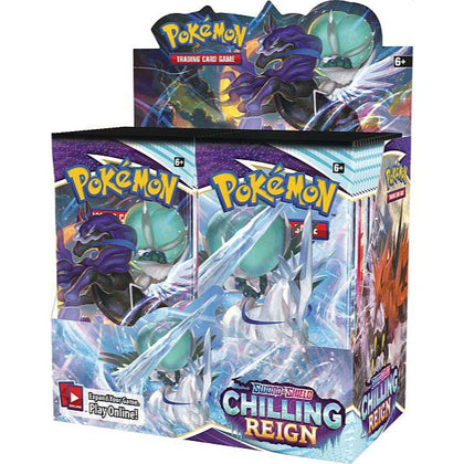 Pokémon Sword and Shield Chilling Reign Booster Display (36) EN