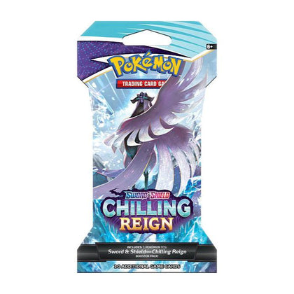 Pokémon Sword and Shield Chilling Reign Sleeved Booster EN