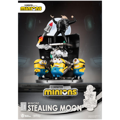 Minions D-Stage PVC Diorama Stealing Moon 15 cm