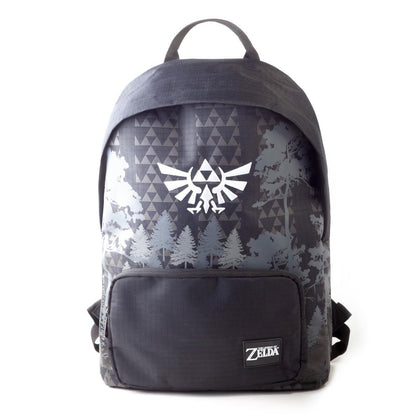 The Legend of Zelda Backpack Black & White