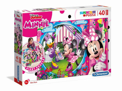 Disney Floor Puzzle Minnie Happy Helpers (40 pezzi)