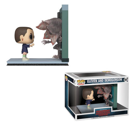 Stranger Things POP! Movie Moments Vinyl Bobble-Head 2-Pack Eleven & Demogorgon 9 cm