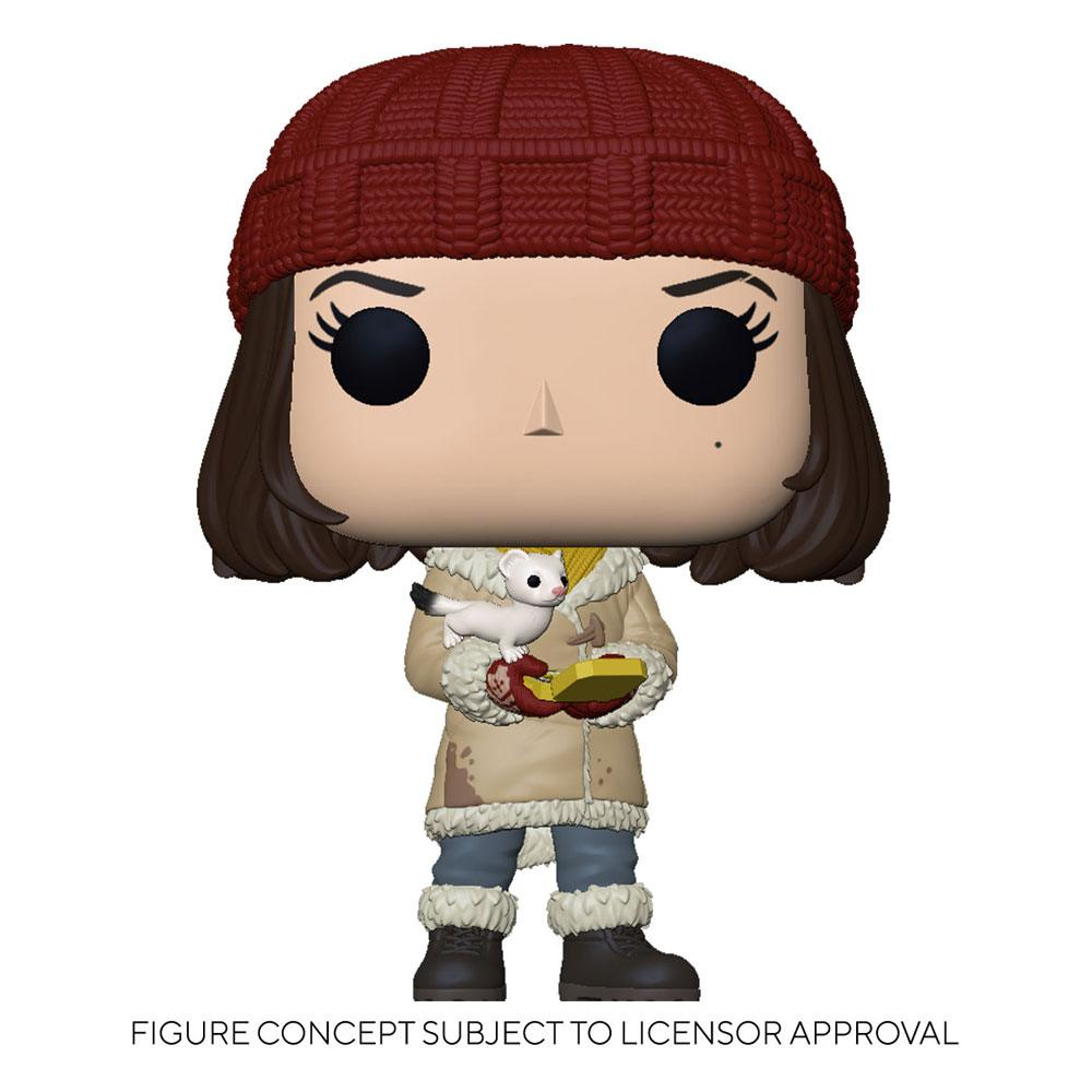 His Dark Materials POP! TV Vinyl Figure Lyra w/Pan 9 cm