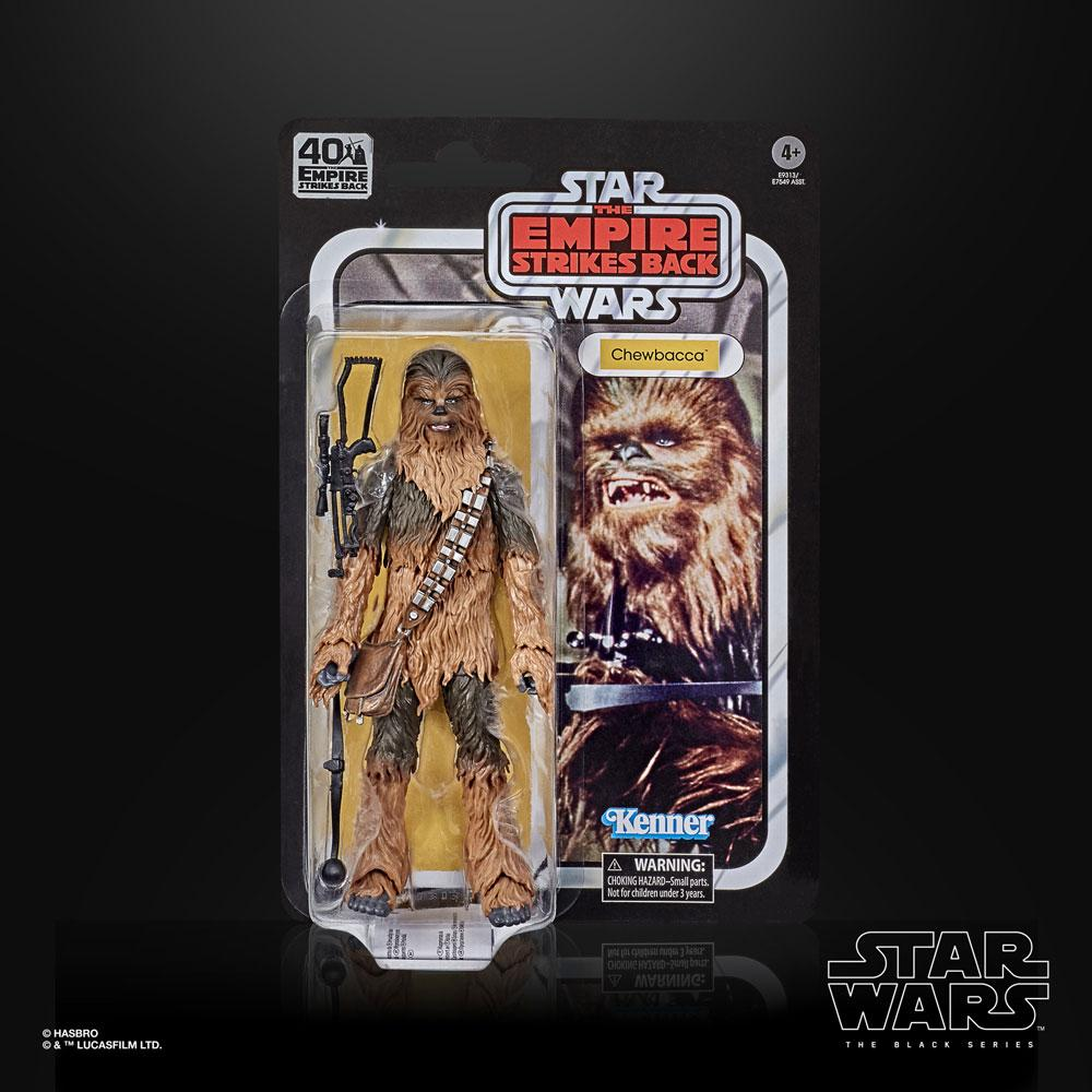 Star Wars Episode V Black Series Action Figures 15 cm 40th Anniversary 2020 Wave 3 Chewbacca