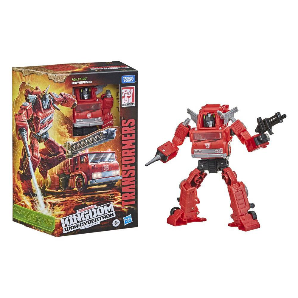Transformers War for Cybertron: Kingdom Voyager WFC-K19 Inferno