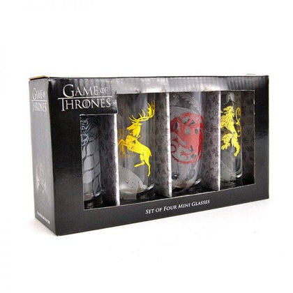 Game of Thrones Shotglass 4-Pack Sigils